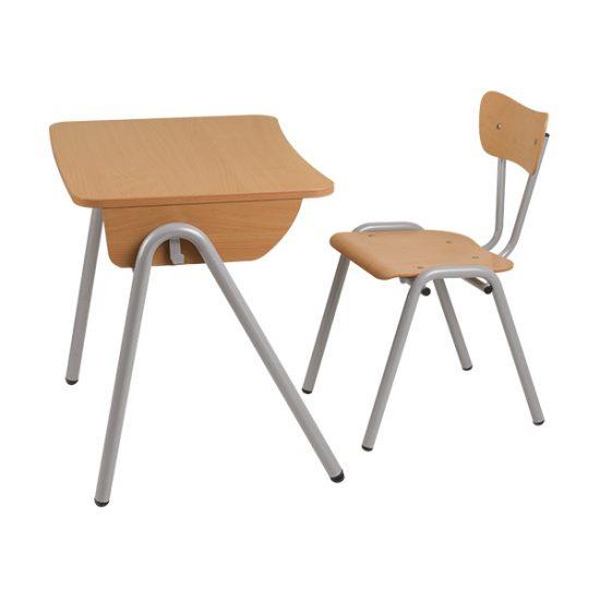 Mobilier scolar | banca scolara 1 persoana model 3 set | DSM 1.21 producator DistinctMob