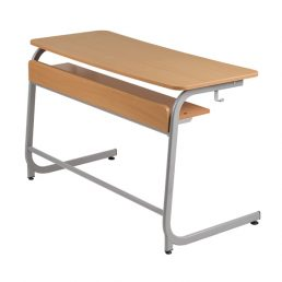 Mobilier scolar | banca scolara 2 persoane model 2b | DSM 1.14 producator DistinctMob