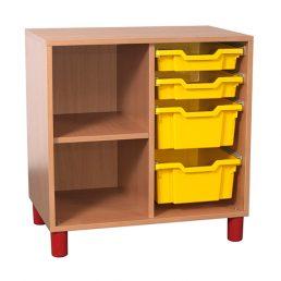 Mobilier gradinita | corp sertare coloana polite | DGM 3.5 producator DistinctMob
