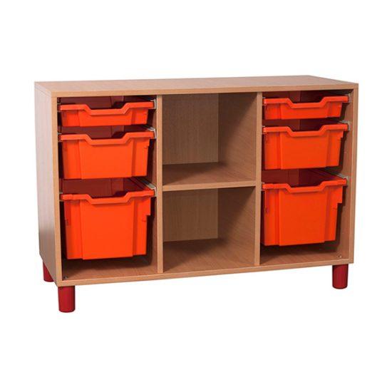 Mobilier gradinita | corp coloane sertare coloana polite | DGM 3.8 producator DistinctMob