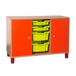 Mobilier gradinita | corp doua usi coloana sertare | DGM 3.10 producator DistinctMob