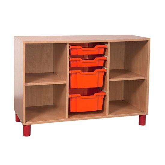 Mobilier gradinita | corp coloana sertare coloane polite | DGM 3.9 producator DistinctMob