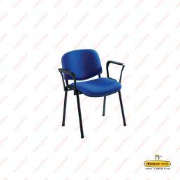 Mobilier birou office | scaun fix tapitat | DAS 1.1 producator DistinctMob