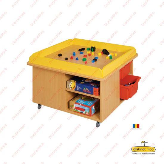mobilier gradinita | masa joaca 4 sertare | DGM 4.25 producator DistinctMob