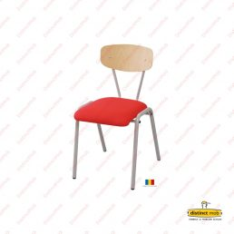 Mobilier scolar | scaun scolar tapitat model 2 | DSM 10.22.1 producator DistinctMob