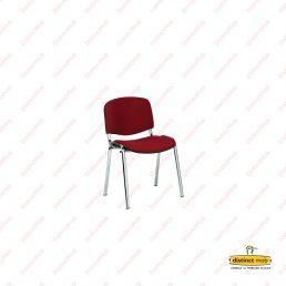 scaun fix tapitat cromat | Mobilier Scolar DSM 10.9 | producator DistinctMob