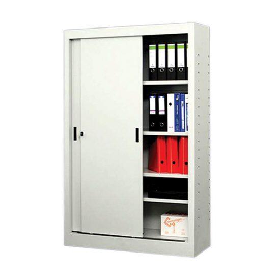 Mobilier birou office | dulap metalic cu usi culisante | DAM 3.26 producator DistinctMob