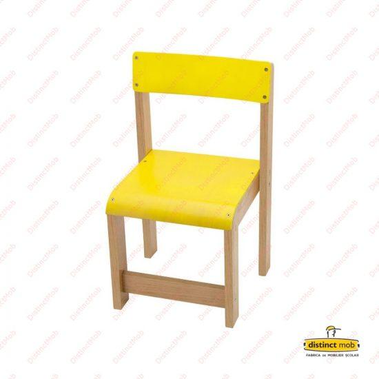scaun lemn gradinita