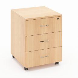 comoda birou cu 3 sertare