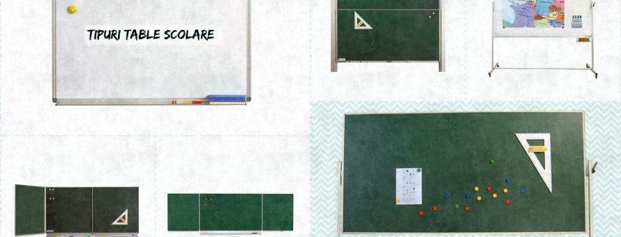 table scolare tipuri
