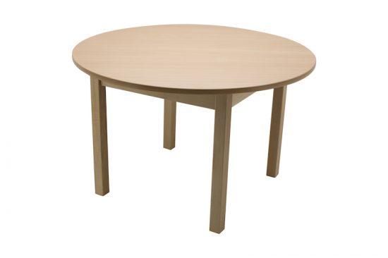 masa lemn gradinita rotunda