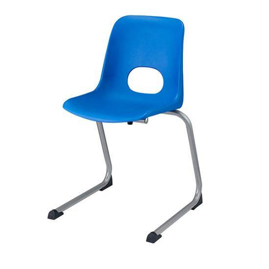 Scaun scolar – scoica albastra